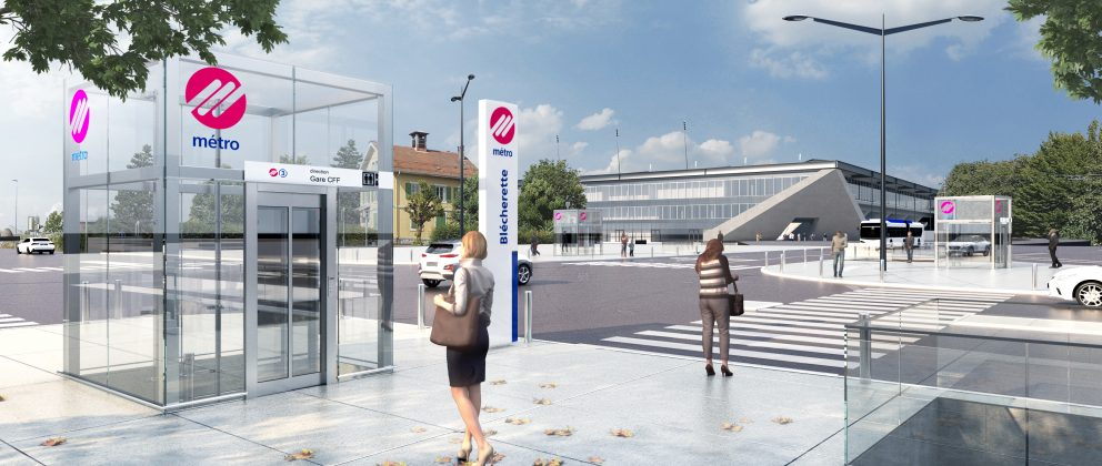 Station m3 Blécherette