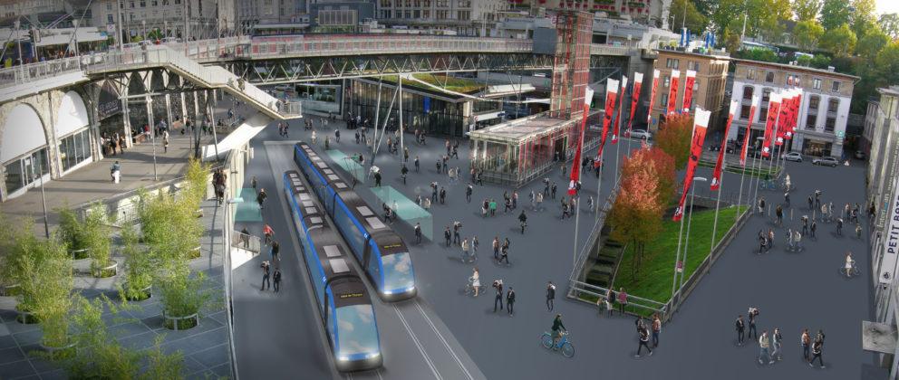 Tram Place de l'Europe